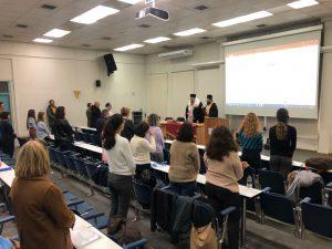 Αγιασμός σε Μεταπτυχιακό Πρόγραμμα στην Ιατρική Σχολή από τον Λαρίσης Ιερώνυμο