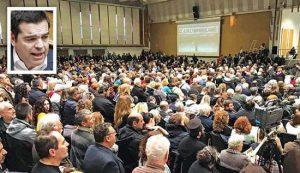 """Ειρωνία Τσίπρα: «Πού είναι τώρα οι """"Μακεδονομάχοι"""". Είδα ότι στο Βελλίδειο καμία τριανταριά ήταν»"""