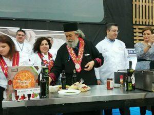 Ο γέροντας Επιφάνιος στην Ολυμπιάδα των σεφ στην Γερμανία