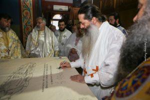 Ι.Μ. Φθιώτιδος: Εγκαίνια Ναού της Αγίας Τριάδος Μαλεσίνας