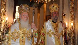 Αρχιεπίσκοπος Κύπρου και Βαρθολομαίος σε Συλλείτουργο στo Φανάρι την Κυριακή της Ορθοδοξίας