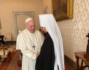 Μόσχα και Βατικανό έρχονται πιο κοντά – Ο Ιλαρίωνας στον Πάπα Φραγκίσκο