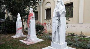 Η προπαγάνδα για τους Βανδαλισμούς στην Μητρόπολη Θεσσαλονίκης