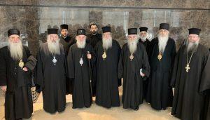Η αποστολή της Σερβικής Ορθόδοξης Εκκλησίας έφτασε στην Ιορδανία