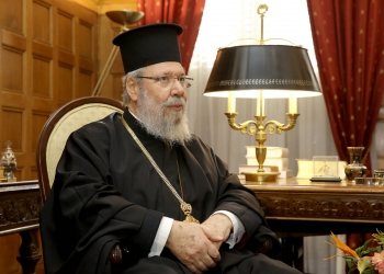 Ο Αρχιεπίσκοπος Αθηνών
