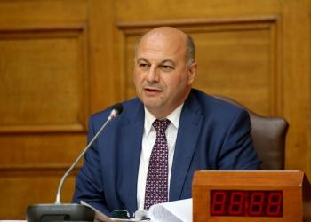 Ο Γραμματέας της Κοινοβουλευτικής Ομάδας της Νέας Δημοκρατίας Κώστας Τσιάρας  μιλά σε συνέντευξη τύπου στην Βουλή , Τρίτη 14 Ιουνίου 2016. ΑΠΕ-ΜΠΕ/ΑΠΕ-ΜΠΕ/Παντελής Σαίτας
