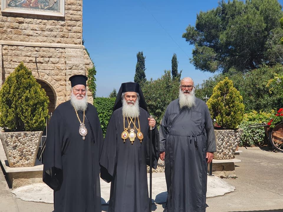 Θεία λειτουργία από τον Ιεροσολύμων Θεόφιλο στην Ιερά Μονή Θαβωρίου Όρους -  ΒΗΜΑ ΟΡΘΟΔΟΞΙΑΣ