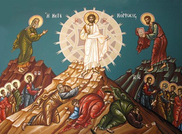 Του Σωτήρος: Τι είπε ο Χριστός στους μαθητές στην Μεταμόρφωση του ...