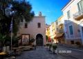 Εκκλησία χωρίς πιστούς  στο Ναύπλιο πρώτη ημέρα των περιοριστικών μέτρων για τον κορονοϊό  στην  Αργολίδα ,Σάββατο 7 Νοεμβρίου 2020. Σε πλήρη ισχύ όλα τα μέτρα της απαγόρευσης κυκλοφορίας στο νομό Αργολίδας που τέθηκαν σε εφαρμογή από το Σάββατο  σε όλη την Ελλάδα.