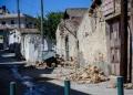 Ισχυρή σεισμική δόνηση μεγέθους 5,8 βαθμών της κλίμακας Ρίχτερ σημειώθηκε στην περιοχή του Ηράκλειου Κρήτης.Το επίκεντρο του σεισμού, ήταν 5χλμ στο Αρκαλοχώρι, όπου υπάρχουν μεγάλες καταστροφές.Κατάρρευση εκκλησίας, νεκρός ένας εργάτης, Δευτέρα 27 Σεπτεμβρίου 2021  (ΣΤΕΦΑΝΟΣ ΡΑΠΑΝΗΣ/ EUROKINISSI)